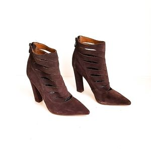 3 for $35 Steve Madden CARDII Gray SUEDE Booties